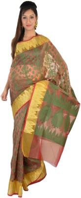 9rasa Printed Banarasi Art Silk Sari