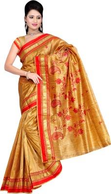 Shatabdi Self Design, Paisley, Embriodered Manipuri Handloom Silk Sari