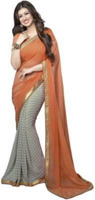 Jhalak Fashion Self Design Bollywood Georgette Sari