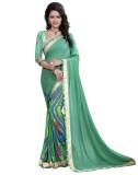 Arya Fashion Self Design Bollywood Georg...