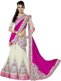 MF Retail Embroidered Bollywood Net Sare...
