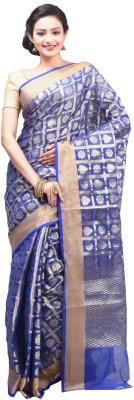 Creation Floral Print Fashion Handloom Art Silk Sari