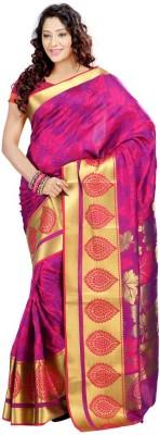 Lovely Look Printed Daily Wear Art Silk Sari
