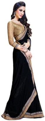 Aamrapali Solid Daily Wear Georgette Sari