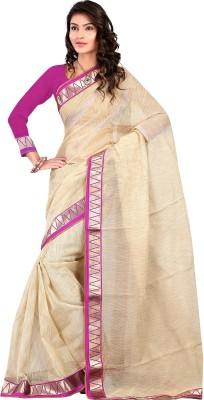 Budget Vastra Self Design Bollywood Cotton Sari