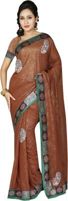 RA Self Design Bollywood Georgette Sari