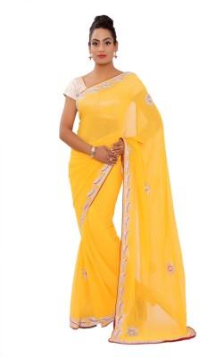 Shri Narayan Fashions Embellished Fashion Chiffon Sari