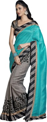 Modish Vogue Printed Bollywood Tussar Silk Sari