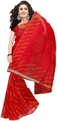 RA Graphic Print Bollywood Net Sari