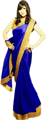 Archer Solid Daily Wear Polyester Sari