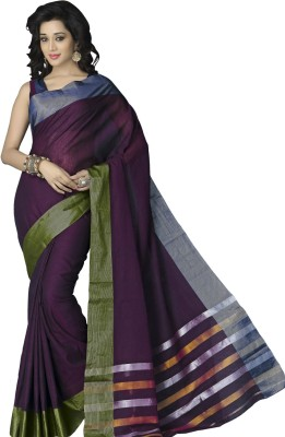 Prabha Creation Digital Prints Fashion Handloom Cotton Sari