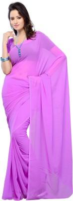 Madhushree International Solid Bollywood Chiffon Sari