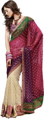 Valehri Self Design Bollywood Net Sari