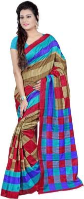 Madhudsarees Solid Manipuri Silk Sari