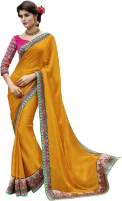 Melluha Embriodered Fashion Chiffon Sari