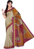 Saree Swarg Floral Print Bollywood Art S...