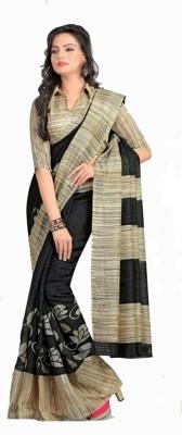 SNEH VARSHA SAREES Printed Bhagalpuri Cambric Sari