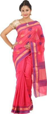 Silk Trendz Woven Fashion Silk Cotton Blend Sari