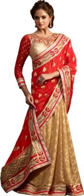 Renuja Embriodered Fashion Jacquard Sari