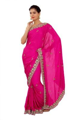 Shri Narayan Fashions Embellished Fashion Art Silk Sari
