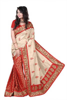 Nikita Sarees Printed Bhagalpuri Silk Sari