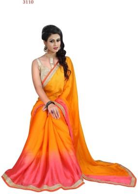 Khodal Fashion Self Design Bollywood Georgette Sari