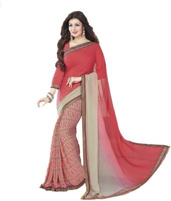 Vihana Printed Bollywood Georgette Sari