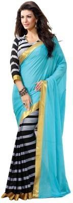 Jalak Design Printed Bhagalpuri Art Silk Sari