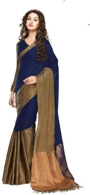 VipSunESales Self Design Fashion Cotton Sari