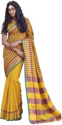 Eva Fashion Plain Bollywood Handloom Cotton Sari