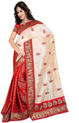 Patel Sarees Animal Print Bhagalpuri Brasso Sari