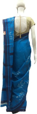 Bansalbrothers Embriodered Assam Silk Art Silk Sari