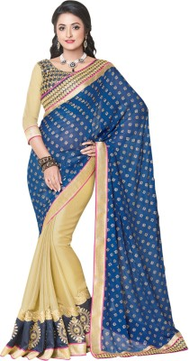Shop Plaza Embriodered, Plain Daily Wear Viscose Sari