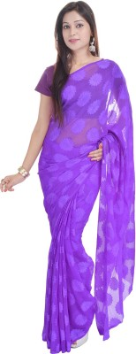 Ufc Mart Printed Fashion Georgette Sari