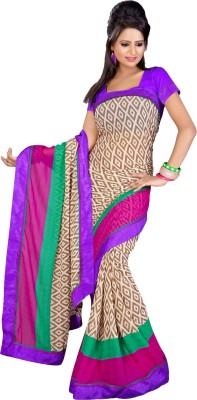Aryahi Geometric Print Daily Wear Georgette Sari