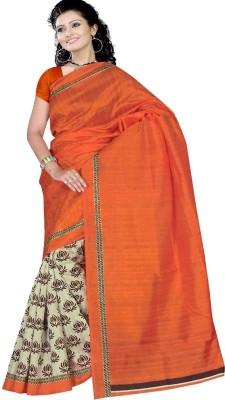 Mamta Synthetic Embellished Sambalpuri Handloom Cotton Sari
