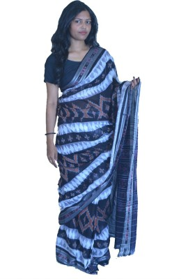 ODISHA CRAFT Self Design Sambalpuri Cotton Sari