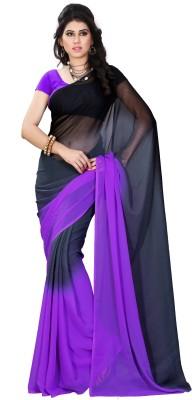 Diva Fashion-Surat Printed Daily Wear Handloom Georgette Sari