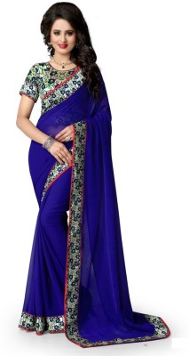 Radhe Studio Printed Fashion Georgette Sari