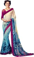 Shoponbit Printed Fashion Georgette Sari
