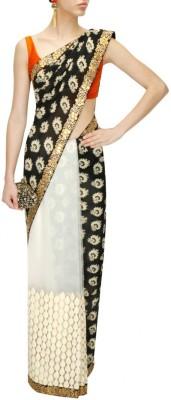 Fabron Printed Bollywood Georgette Sari