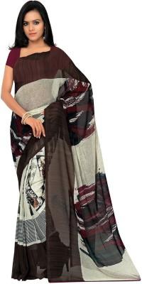 Aviaana Printed Daily Wear Georgette Sari