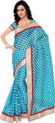 Gunjan Creation Self Design Fashion Tissue Silk Sari