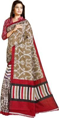 Roshni Printed Bollywood Polycotton Sari