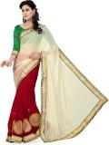 Saree Swarg Solid Bollywood Net, Chiffon...