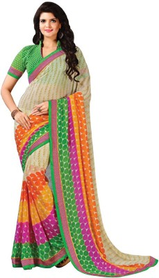 Tulaasi Plain Fashion Cotton Sari