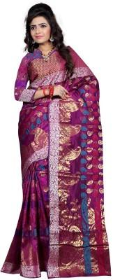 Fashion Now Printed Banarasi Banarasi Silk Sari