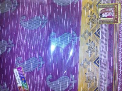 JAY HANUMAN Printed Patola Cotton Sari