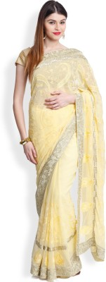 Utsava Embriodered Bollywood Chiffon Sari