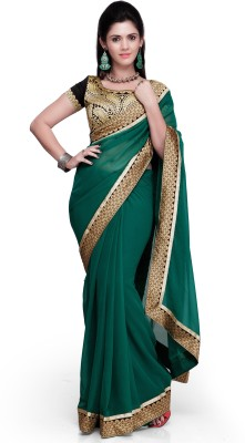 Kanupriya Embriodered Bollywood Georgette Sari